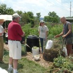 Lasagna Composting Method Demo By Randy & Kaitlin