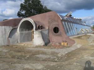 DeVoe Earthship in Freeville Photo Credit: Courtney DeVoe