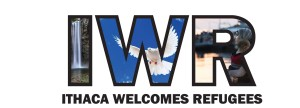 Ithaca Welcomes Refugees logo
