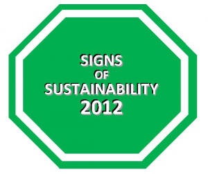 Signs of Sustainability 2012
