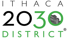 Temp logo, Ithaca 2030 District