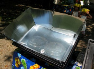 New Solar Oven